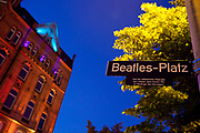 Beatles Platz Beatles Square. In the St Pauli area of Hamburg, is the Reeperbahn. It is the most famous area for nightlife in the city, as well as the red light district where prostitues are seen openly working on the street. It is also the area where the Beatles performed during thier early years 1960-62.