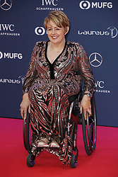 Laureus Academy Member Tanni Grey-Thompson arriving to the Laureus Sports Awards 2019 ceremony at the Sporting Monte-Carlo in Monaco on February 18, 2019. Photo by Marco Piovanotto/ABACAPRESS.COM