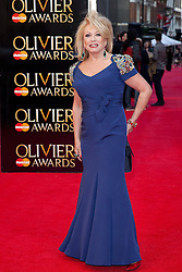 © Licensed to London News Pictures. 15/04/2012. Elaine Paige  2012 Olivier Awards Arrivals At The Royal Opera House, London, UK.  Photo credit : Richard Hurn / LNP