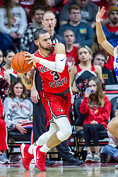 NORMAL, IL - February 22: Ricky Torres during a college basketball game between the ISU Redbirds and the Drake Bulldogs on February 22 2020 at Redbird Arena in Normal, IL. (Photo by Alan Look)