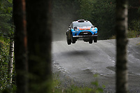 MOTORSPORT - WORLD RALLY CHAMPIONSHIP 2012 - FINLAND RALLY / RALLYE DE FINLANDE - JYVASKYLA (FIN) - 03 TO  05/08/2012 - PHOTO: FRANCOIS BAUDIN / DPPI - <br /> OSTBERG MADS - FORD FIESTA WRC - ACTION