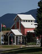 © 2008 Randy Vanderveen, all rights reserved.Tumbler Ridge, British Columbia.Town Hall in Tumbler Ridge B.C.