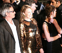 Director Leos Carax and Kylie Minogue at the Holy Motors gala screening, red carpet at the 65th Cannes Film Festival France. Wednesday 23rd May 2012 in Cannes Film Festival, France.