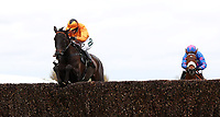 National Hunt Horse Racing - 2017 Randox Grand National Festival - Thursday, Day One [Grand Opening Day]<br /> <br /> Lizzie Kelly on Tea for Two in the 14.50 The Betway Bowl Steeple Chase (Grade1), at Aintree Racecourse.<br /> <br /> COLORSPORT