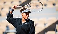 Naomi Osaka of Japan during the first round of the Roland-Garros 2021, Grand Slam tennis tournament on May 30, 2021 at Roland-Garros stadium in Paris, France - Photo Rob Prange / Spain ProSportsImages / DPPI / ProSportsImages / DPPI