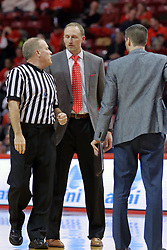 09 December 2017:  Gerry Pollard and Dan Muller during a College mens basketball game between the Murray State Racers and Illinois State Redbirds in  Redbird Arena, Normal IL