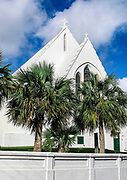 Cgarming church in Devonshire Parish, Bermuda.