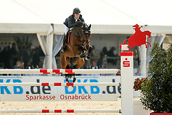 Clayton Joseph, (GBR) - Gorre<br /> Preis der Vitra GmbH<br /> Hagen - Horses and Dreams 2015<br /> © Hippo Foto - Stefan Lafrentz<br /> 24/04/15