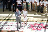 072114 Spanish Royals receive 'Ruta Quetzal BBVA 2014'