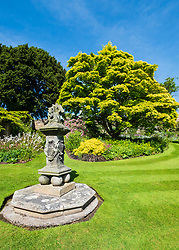 Inveresk Lodge Garden in Inveresk village, East Lothian, Scotland, UK