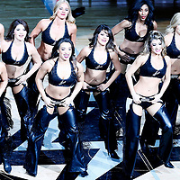 01 May 2017: The San Antonio Spurs Silver Dancers perform during the Houston Rockets 126-99 victory over the San Antonio Spurs, in game 1 of the Western Conference Semi Finals, at the AT&T Center, San Antonio, Texas, USA.