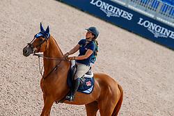 Goldstein Danielle, ISR, Lizziemary<br /> World Equestrian Games - Tryon 2018<br /> © Hippo Foto - Stefan Lafrentz<br /> 18/09/2018