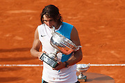 Roland Garros. Paris, France. June 10th 2007..Rafael NADAL won the men's final against Roger FEDERER