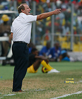 Photo: Steve Bond/Richard Lane Photography.<br />Ghana v Nigeria. Africa Cup of Nations. 03/02/2008. Bertie Vogts points the way