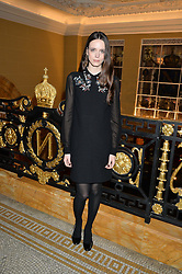 STACY MARTIN at the Lancôme BAFTA Dinner held at The Cafe Royal, Regent's Street, London on 6th February 2015.
