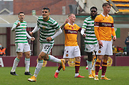 GOAL 1-3 Mohamed Elyounoussi (Celtic) gets his third during the Scottish Premiership match between Motherwell and Celtic at Fir Park, Motherwell, Scotland on 8 November 2020.