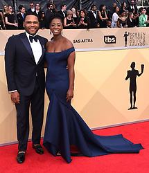 24th Annual Screen Actors Guild Awards held at the Shrine Exposition Center. 21 Jan 2018 Pictured: Anthony Anderson. Photo credit: OConnor-Arroyo / AFF-USA.com / MEGA TheMegaAgency.com +1 888 505 6342