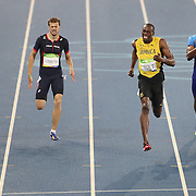 Athletics - Olympics: Day 9  Usain Bolt of Jamaica wins the Men's 200m Final at the Olympic Stadium on August 18, 2016 in Rio de Janeiro, Brazil. (Photo by Tim Clayton/Corbis via Getty Images)
