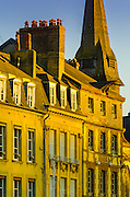 Evening light in Honfleur, Normandy, France