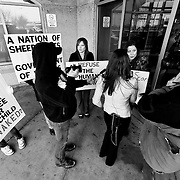 Protests at Kansas City International Airport heading into Thanksgiving 2010 concerning TSA airport security policies.