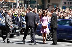 July 21, 2017 - Hamburg, Hamburg, Deutschland - Britain's Prince William, Duke of Cambridge and his wife Kate, the Duchess of Cambridge, attend the Elbphilharmonie concert hall on July 21, 2017 in Hamburg, Germany. (Credit Image: © Future-Image via ZUMA Press)