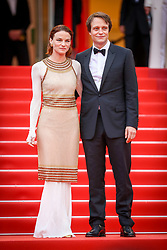 August Diehl and Valerie Pachner attend the screening of A Hidden Life (Une Vie Cachee) during the 72nd annual Cannes Film Festival on May 19, 2019 in Cannes, France Photo by Shootpix/ABACAPRESS.COM