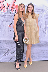 © Licensed to London News Pictures. 19/06/2018. London, UK. Yasmin Le Bon and Amber Le Bon attends the Serpentine Gallery Summer Party. Photo credit: Ray Tang/LNP