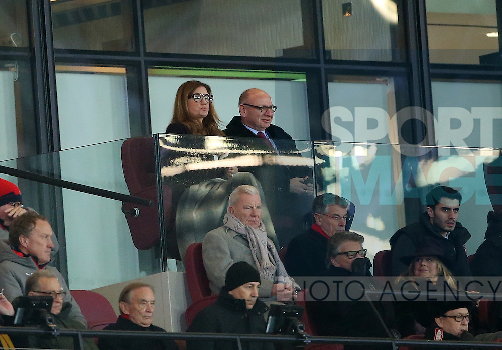 West Ham's Karen Brady looks on during the Premier League match at the London Stadium, London. Picture date December 3rd, 2016 Pic David Klein/Sportimage