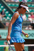Paris, France. May 24th 2009. .Roland Garros - Tennis French Open. 1st Round..Serbian player Ana Ivanovic against Sara Errani..
