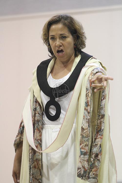 Turandot Staging #2, Seattle Opera, July 12, 2012. Lori Phillips.