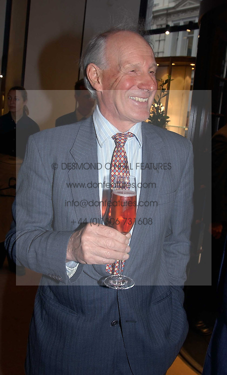 CHARLES PALMER-TOMKINSON at a party to celebrate the publication of 'Last Voyage of The Valentina' by Santa Montefiore at Asprey, 169 New Bond Street, London W1 on 12th April 2005.<br /><br />NON EXCLUSIVE - WORLD RIGHTS