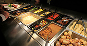 The buffet table at the Luna Pizza, Pasta & Wings in O'Fallon. It's located on Route 50, across from Wal-Mart.
