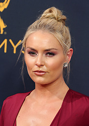 Lindsey Vonn arriving for The 68th Emmy Awards at the Microsoft Theater, LA Live, Los Angeles, 18th September 2016.