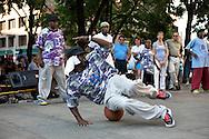 UNITED STATES-BOSTON-Streetdancers. PHOTO:GERRIT DE HEUS.VERENIGDE STATEN-BOSTON-Straatdansers in de stad. ANP PHOTO COPYRIGHT GERRIT DE HEUS