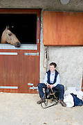 09/08/2012    at the Connemara Pony Show in Clifden County Galway . Photo:Andrew Downes.