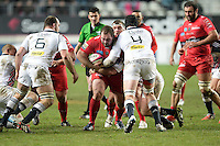 Levan Chilachava - 28.12.2014 - Stade Francais / Racing Club Toulon - 14eme journee de Top 14<br />Photo : Aurelien Meunier / Icon Sport