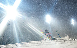 08.01.2019, Hermann Maier Weltcupstrecke, Flachau, AUT, FIS Weltcup Ski Alpin, Slalom, Damen, 1. Lauf, im Bild Erin Mielzynski (CAN) // Erin Mielzynski of Canada in action during her 1st run of ladie's Slalom of FIS ski alpine world cup at the Hermann Maier Weltcupstrecke in Flachau, Austria on 2019/01/08. EXPA Pictures © 2019, PhotoCredit: EXPA/ Johann Groder