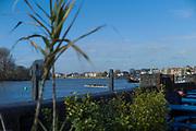 "Hammersmith. London. United Kingdom, General View, ""Hammersmith Bend""  2018 Men's Head of the River Race. Championship Course, Putney to Mortlake. River Thames, <br /> <br /> Sunday   11/03/2018<br /> <br /> [Mandatory Credit:Peter SPURRIER Intersport Images]<br /> <br /> Leica Camera AG  M9 Digital Camera  1/1500 sec. 50 mm f. 160 ISO.  17.5MB"