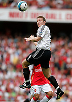 Photo: Steve Bond.<br />Arsenal v Derby County. The FA Barclays Premiership. 22/09/2007. Steve Howard