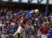 Rangers v Hearts, Scottish Premier. Ibrox Park.<br /><br />Pic Ian Stewart, 3/03/01.<br /><br />Flo scores his second goal