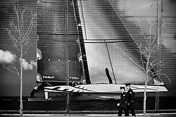 Valencia, Spain, February 7th 2010. 33rd Americas Cup. © Sander van der Borch