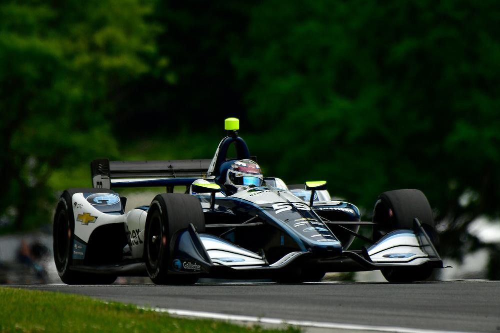 Max Chilton, Carlin Chevrolet<br /> Friday 22 June 2018<br /> KOHLER Grand Prix at Road America<br /> Verizon IndyCar Series<br /> Road America WI USA<br /> World Copyright: Scott R LePage