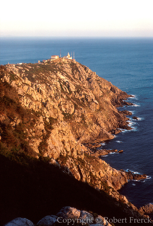 SPAIN, NORTH, GALICIA Cape Finisterre western most point