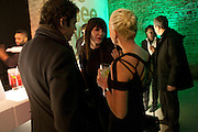 ANNABEL NEILSON, Stephen Webster: 7 Deadly Sins And No Regrets - launch party, Old Vic Tunnels (formerly Leake Street Tunnel), Waterloo, London SE1, 8 December 2010. DO NOT ARCHIVE-© Copyright Photograph by Dafydd Jones. 248 Clapham Rd. London SW9 0PZ. Tel 0207 820 0771. www.dafjones.com.
