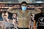 Muay Thai / K1: Day of Destruction XIV, Wiegen, Hamburg, 11.12.2020<br /> Niclas R Larsen (DEN)<br /> © Torsten Helmke