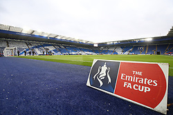 A general view of the King Power Stadium before kick-off
