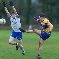 Clare's Eimhin Courtney V Waterford's Brian Lobby