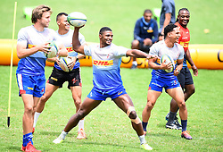 SOUTH AFRICA - Cape Town - 27 October 2020-  Stormers fullback Warrick Gelant passing a ball during a training session at Bellville High Performance centre.The Stormers will be travelling Pretoria this weekend to play against the Blue Bulls. Photograph; Phando Jikelo/African News Agency(ANA)