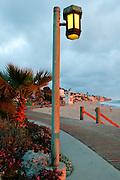 Board Walk Laguna Beach, California.