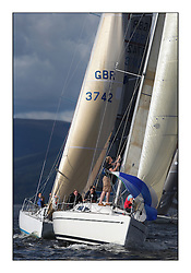 Largs Regatta Week 2011..3401C, Rogue Trader, Elan 340, Jamie Cumming